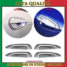 Copri Maniglie Cromate 4 porte Acciaio Cromo Fiat Grande Punto / EVO 2005+