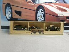LLEDO MODELS - SET OF 3 ROLLS-ROYCE  DIECAST MODEL CARS   -  DAYS GONE