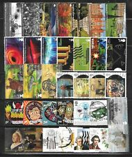 100 used recent GB commemoratives, all low value