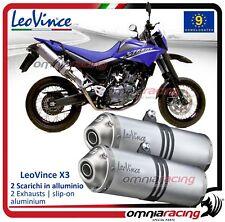 Leovince X3 Enduro 2 Pot D'Echappement approuve Yamaha XT 660 R / X 2004>2016