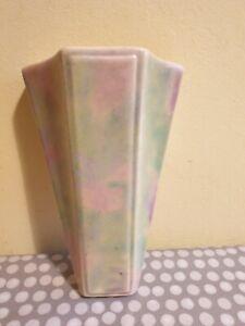 Art Deco Flaxman Ware Wall Pocket Vase By Wade Heath c1930's