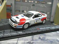 TOYOTA Celica 4WD 4x4 Turbo 1992 #4 Sainz Catalunya Spain IXO Altaya SP 1:43