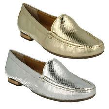 Scarpe da donna mocassini argento , Numero 38,5