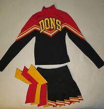"Authentic 2 Piece Cheerleader Uniform: ""Dons""."