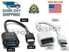 USB-C 3.1 Type C Male to USB 3.0 Type A Female OTG Adapter Converter Cable