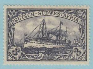GERMAN SOUTH WEST AFRICA  33a  YACHT - MNH OG **  NO FAULTS VERY FINE !