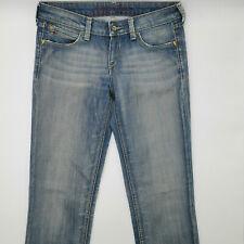 Tommy Hilfiger Rosie Field Stretch W28 L34 blau Damen Designer Denim Jeans Hose