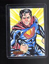 DC Super-Villains sketch card by Cleber Lima