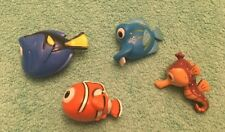 "Set Of 4 Disney's Nemo Dory 2"" Figurine Toys"