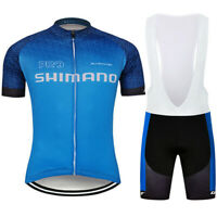 Mens Cycling Jersey Top Bib Short Bicycle MTB Bike Motocross Shirt Ride Clothing