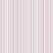 Coloroll - White, Lilac, Pink, Purple and Gold Striped Lines Feature Wallpaper