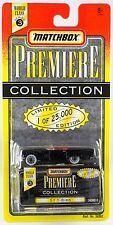 Matchbox World Class Series 3 Premiere Collection '57 T-Bird Black New