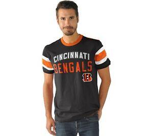 NFL Men's Triple Play Short Sleeve Top Cincinnati Bengals Large A296286