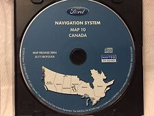 2004 05 06 Ford Expedition Navigation CD Map #10 Cover CANADA  #442