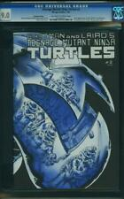 1 TMNT TEENAGE MUTANT NINJA TURTLES 2 CGC 2ND Print OW TO WP Eastman & Laird