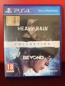 Heavy Rain & Beyond due anime (PlayStation 4) Gioco Videogame Due Giochi In Uno