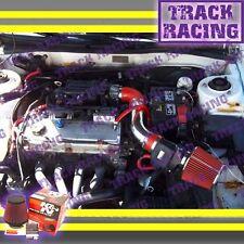 99-03 MITSUBISHI GALANT/00-05 ECLIPSE 2.4L I4/3.0L V6 AIR INTAKE KIT+K&N Red