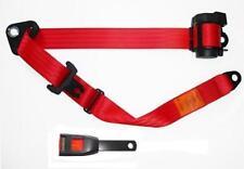 NEW Securon Seat Belt 500/15 Lap & Diagonal Belt RED