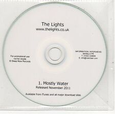(EH760) The Lights, Mostly Water - 2011 DJ CD