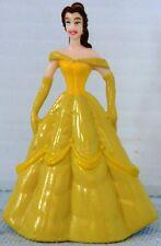 "Belle From Beauty & the Beast 2 ¼"" h x 1 5/8"" Pvc Figure Disney Cake topper etc."