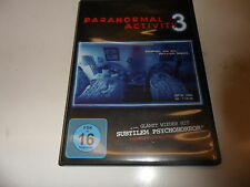 DVD  Paranormal Activity 3
