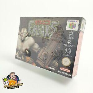 """Nintendo 64 Spiel """" Bio Freaks """" N64 Biofreaks   PAL EUR   Neu New Sealed Unused"""