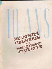 TOUR de FRANCE CYCLISTE 10 ans COMITÉ Caennais Henry DYVRANDE Dessin Photos 1936