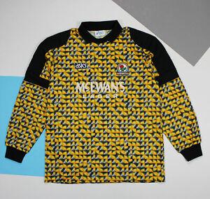 Vintage 1993 - 1994 Blackburn Rovers Goalkeeper Shirt Jersey (size XL)