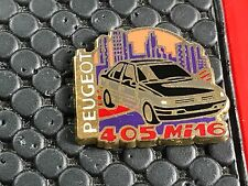 PINS PIN BADGE CAR PEUGEOT 405 MI16