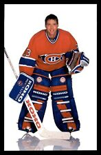 PATRICK ROY RC  MONTREAL CANADIENS 80 S POST CARD VERY NICE 15562