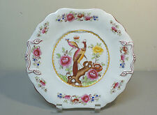 """NICE ANTIQUE F. WINKLE & CO WHIELDON WARE """"OLD CHELSEA"""" 9.5"""" CAKE PLATE /PLATTER"""