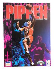 Vintage 1993 NOS Scottie Pippen NBA Chicago Bulls Pocket School Folder
