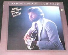 JONATHAN REINE Jesus How Much Do You Love Me LP PRIVATE MN XIAN FOLK BONE COVER