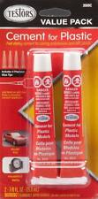 Testors Plastic Model Cement Value Pack (2) 3509C TES3509C