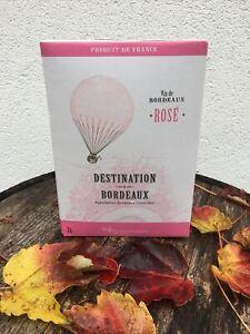 Koch 3 LITER BiB Bag in Box 12%vol Bordeaux Rosé Wein kräftiger Altersfirn