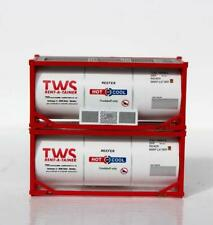JTC N Scale TWS 20' Tank Containers (2) 205211