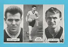 FOOTBALL - D.C. THOMSON -  CUP - TIE  STARS  OF  ALL  NATIONS  CARD  (C) -  1962