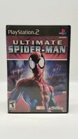 Ultimate Spider-Man (Sony PlayStation 2, 2005) PS2 w/ Manual
