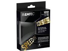 "SSD EMTEC SpeedIN"" 1.8"" Portable Externe USB 3.0 128 Go Solid State Drive"