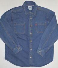 Mens XL Levi's LS Denim Shirt 36 Sleeve Blue Jean