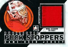 2013-14 ITG Enforcers Pugilistic Puck Stoppers Jersey #12 Mike Vernon