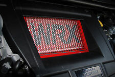 AVT 2015-2018 SUBARU WRX FA20DIT TMIC INTERCOOLER GUARD SCREEN COVER RED-RED