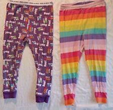 Girls Snug Fit Pajama Bottoms Ghost Rainbow Size 24 Months