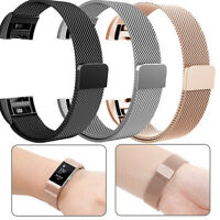 For Fitbit Charge 2 Watch Band Adjust Stainless Steel Replace Bracelet Strap