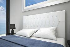 Cabecero tapizado polipiel dormitorio matrimonio VOGUE .Varios colores