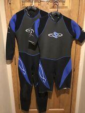 Mens Wetsuit Matched Set Full Shorty 3/2 mm US Divers Large L Wet Suit Seal Skin