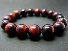 Red Tiger Eye Round Beads Bracelet 8 MM AAAA++++
