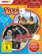 PIPPI LANGSTRUMPF & MICHEL SPIELFILM-KOMPLETTBOX  (7 DVD)  KINDERFILM  NEU