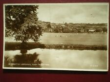 POSTCARD BUCKINGHAMSHIRE HIGH WYCOMBE - RECREATION GROUNDS