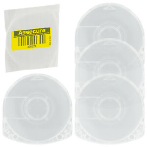 UMD Case for PSP Sony replacement disc casing shell - 4 pack | ZedLabz